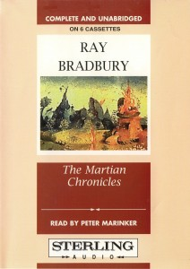 Ray Bradbury - The Martian Chronicles cover